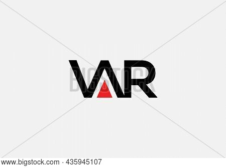 Abstract V A R Letter Marks Minimalist Logo Design