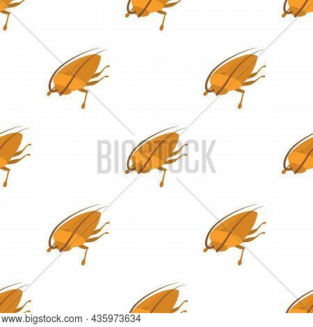 Cockroach Pattern Seamless Background Texture Repeat Wallpaper Geometric Vector