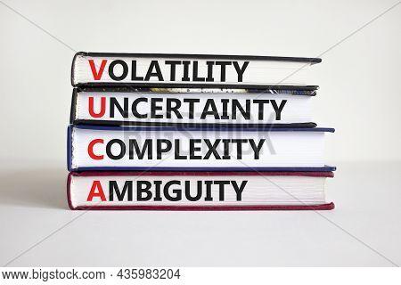 Vuca Volatility, Uncertainty, Complexity, Ambiguity Symbol. Words 'vuca Volatility, Uncertainty, Com