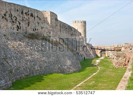 Belgrade's Fortress Rampart