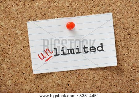 Limited becomes Unlimited