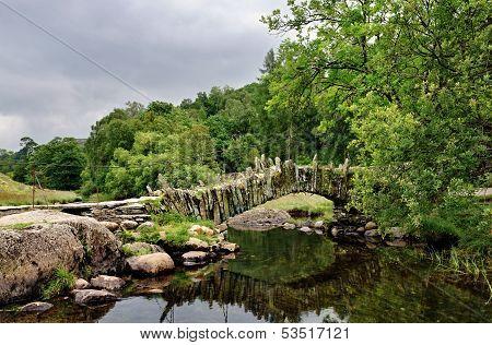 Packhorse bridge at Little Langdale