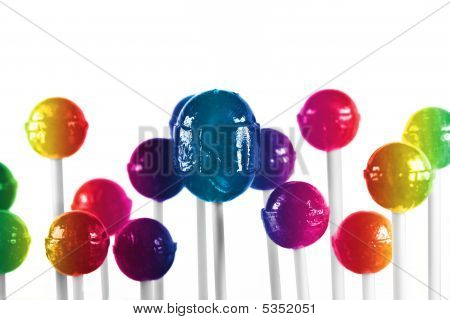 colorful lollipop