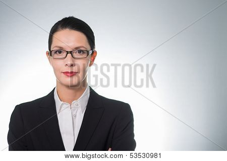 Stylish Confident Businesswoman