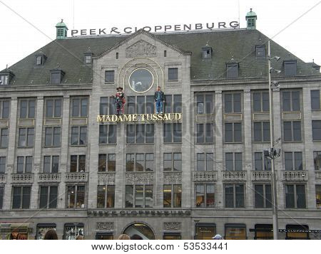 Madame Tussaud in Amsterdam