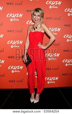 LOS ANGELES - NOV 6:  Chelsea Kane at the CRUSH by ABC Family Clothing Line Launch at London Hotel on November 6, 2013 in West Hollywood, CA