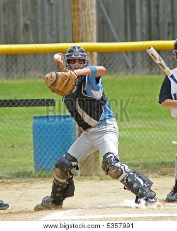 Catcher Throwing