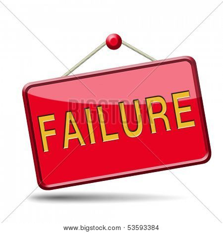failure fail exam or attempt can be bad especially when failing an important job task or in your study failing an exam. You feel frustrated and being a looser, button or icon