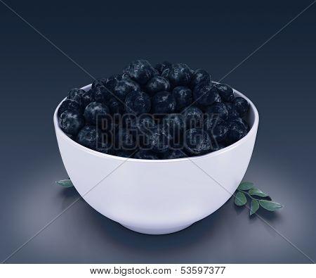 The amazon acai fruit.