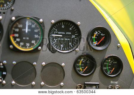Gyroplane Instrument Panel