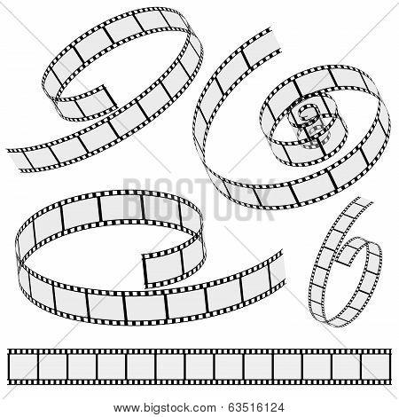 Cinema Film Strip Collection