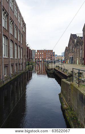 Urban Landscape In Amsterdam.