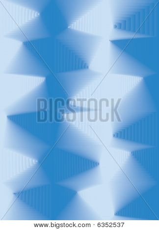 Blue Abstract 3d background