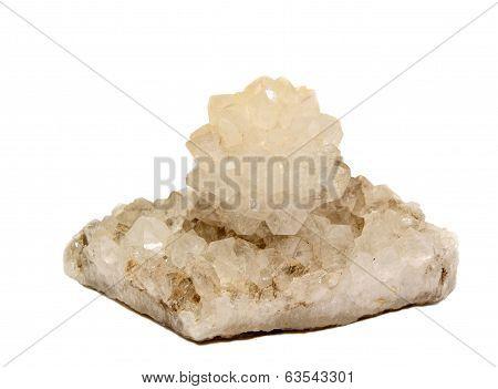 Quartz Crystal Rose