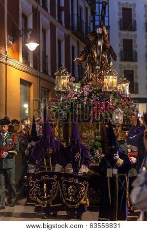 Valladolid Good Friday Night 2014 06