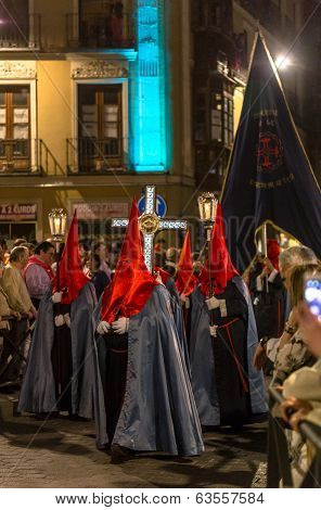 Valladolid Good Friday Night 2014 13