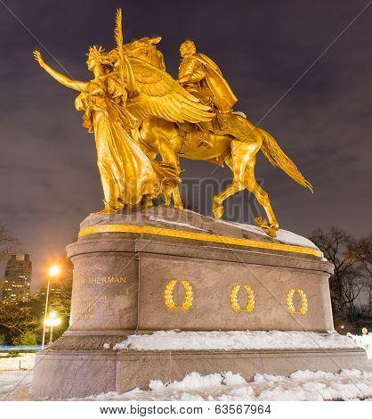 William Sherman Memorial, New York