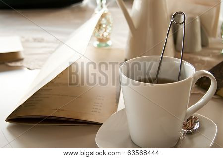 A Romantic Breakfast Table Arrangement