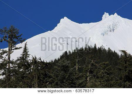 Mt. Jefferson Draped in White