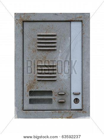 Old And Rusty Door Buzzer