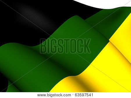 Flag Of African National Congress