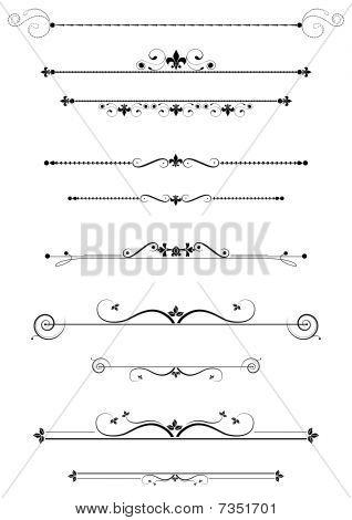 dekorative Teiler