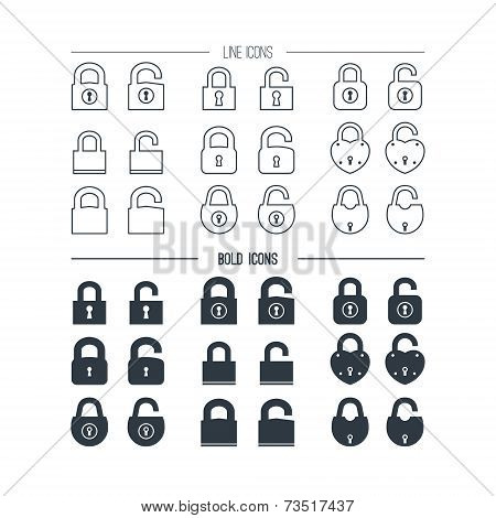 Icons The Lock