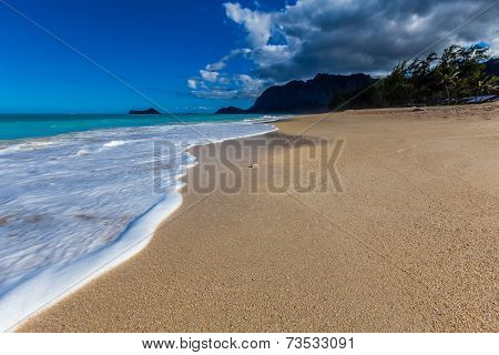Paradise Beach In Hawaii
