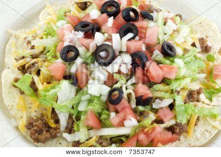 Taco Salat closeup