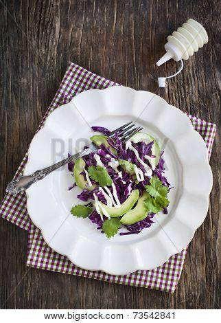 Creamy Slaw. Cabbage Salad