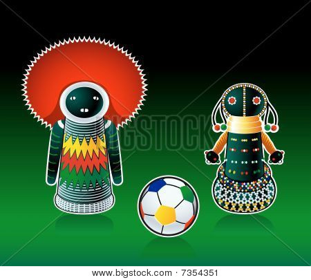 South african dolls