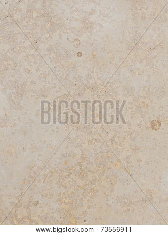 solid smooth beige marble with brown stripes and spots poster