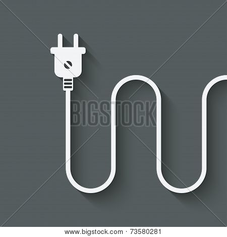 electric wire with plug