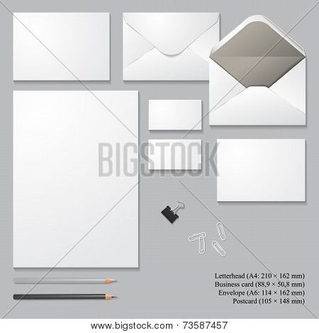 Vector Corporate Identity Templates