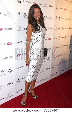 LOS ANGELES - OCT 9:  Eva LaRue at the Star Magazine Scene Stealers Event at Lure on October 9, 2014 in Los Angeles, CA