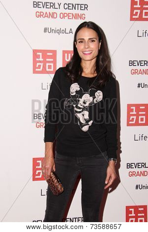 LOS ANGELES - OCT 9:  Jordana Brewster at the UNIQLO Los Angeles Opening at UNIQLO, Beverly Center on October 9, 2014 in Beverly Hills, CA