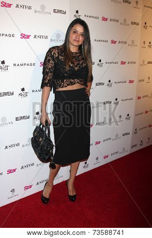 LOS ANGELES - OCT 9:  Leila Gharache at the Star Magazine Scene Stealers Event at Lure on October 9, 2014 in Los Angeles, CA