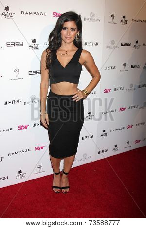 LOS ANGELES - OCT 9:  Roxy Sowlaty at the Star Magazine Scene Stealers Event at Lure on October 9, 2014 in Los Angeles, CA