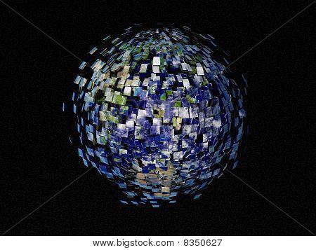 Disintegration Of Earth