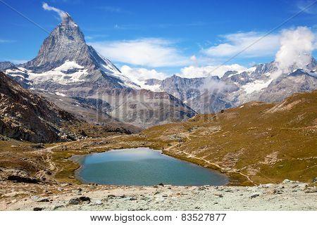 alpine landscape at Matterhorn