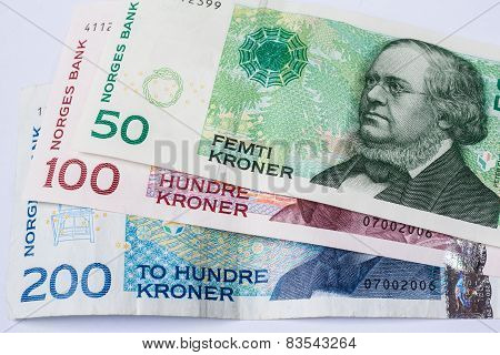 Banknotes Norwegian Krona