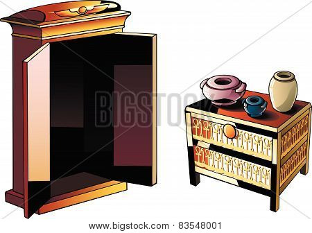 Egyptian furniture
