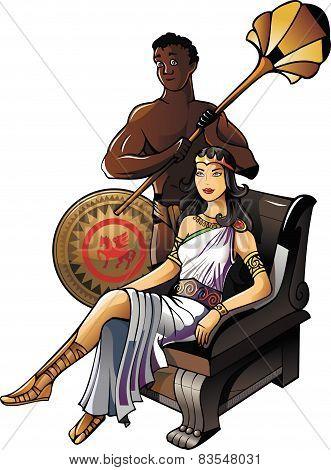 Ancient Greek queen