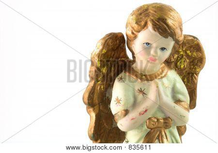 angel in white background