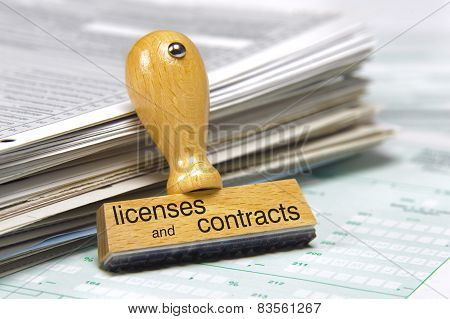 licenses and contracts