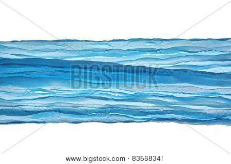 Blue Wave Fabric Angle Lines Pattern Abstract Textured Background