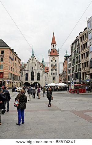 Munich, Old Town Hall