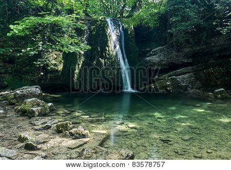 Janet's Foss Waterfall, Malham