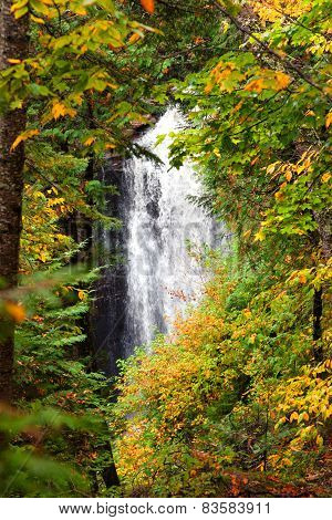 Miners Falls In Autumn - Michigan