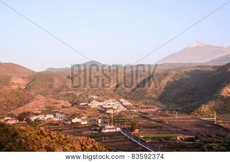 Village of Canary Islands